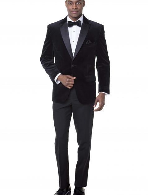 Luxor Black Velvet Tuxedo