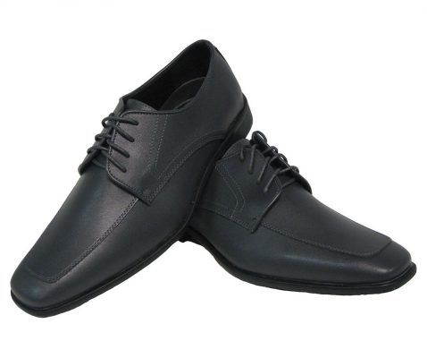 Gray Matte Allure Lace Up Tuxedo Shoe - VIP Formal Wear - Raleigh NC