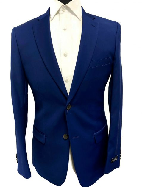 Cobalt Ultra Slim Suit fit suit