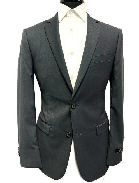 charcoal grey ultra slim fit suit